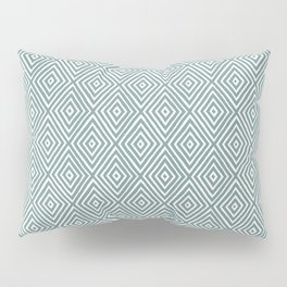 diamond painted-blue Pillow Sham