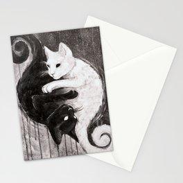 Yin Yankitties Stationery Cards