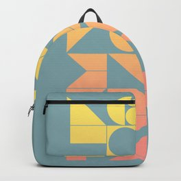 Modern Geometric 06 Backpack