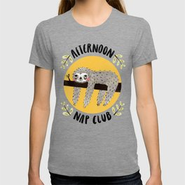 Afternoon Nap Club Sloth T-shirt