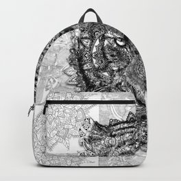 mandala tiger Backpack