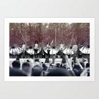 fifth harmony Art Prints featuring Fifth Harmony by xamjx3