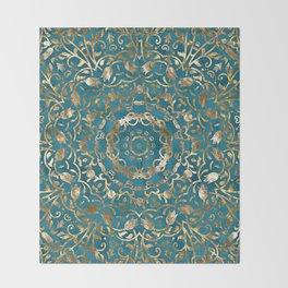 Moroccan Style Mandala Throw Blanket