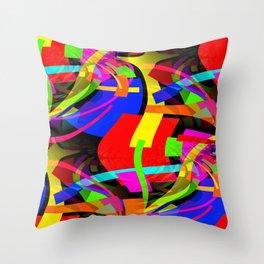 Bent Throw Pillow