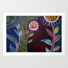 Approached  Art Print
