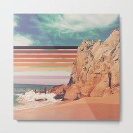Earth Sky and Sea Metal Print