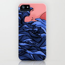 The Great Waves iPhone Case