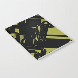 3D Futuristic BG II Notebook