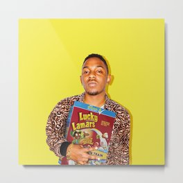 Lucky Lamars | Rappers and Cereal Metal Print