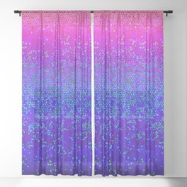 Glitter Star Dust G248 Sheer Curtain