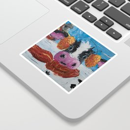 Wis-cow-sin Winter Sticker