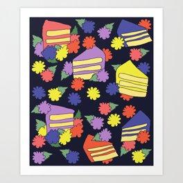 Cake Lover Art Print