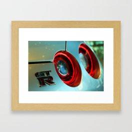 Skyline GTR  Framed Art Print