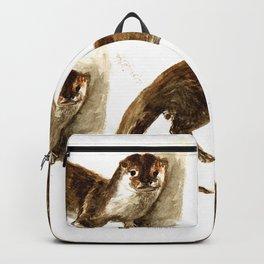 Totem otter: Amblonyx cinerea Backpack