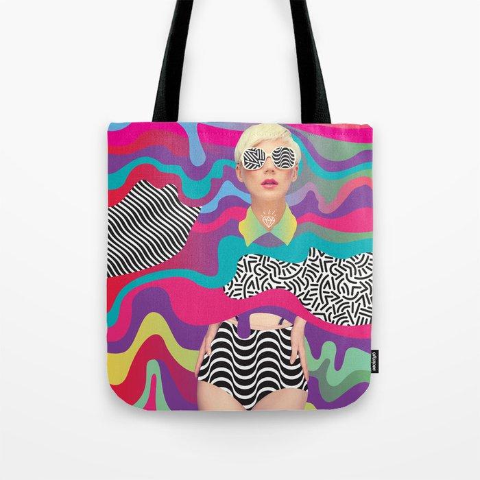 Lava Girl Tote Bag