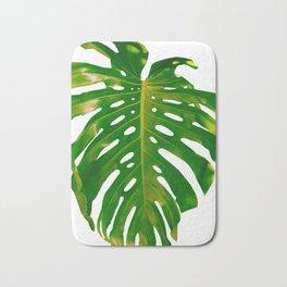 Guatemala - Monstera Deliciosa Leaf Bath Mat