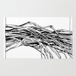 Group of Branches Rug