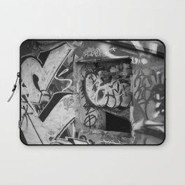 Urban graffiti Miami Abandoned Marina Stadium in Key Biscayne Laptop Sleeve
