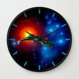 Klingon Vor'cha-class  attack cruiser Wall Clock