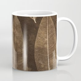 Botanical Pattern 2 (brown) Coffee Mug