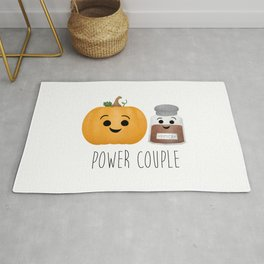 Pumpkin + Spice = Power Couple Rug
