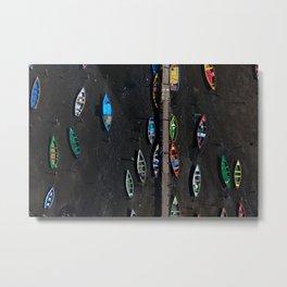 Colors of a low tide Metal Print
