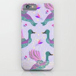 The ducks of  Pallada Athena  iPhone Case