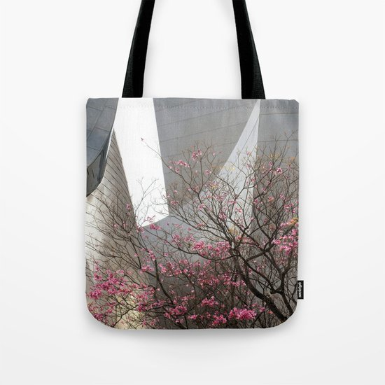 City Blossoms Tote Bag