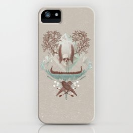 Ghosts of Scandinavia. Iceland. iPhone Case