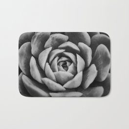 Spiral into the Depth of the Succulent Bath Mat