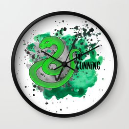 The Cunning Snake Wall Clock