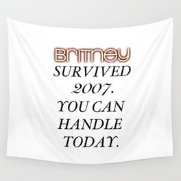Britney Survived, Blackout. Wall Tapestry