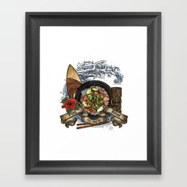 Everyone Gets Lei'd Framed Art Print