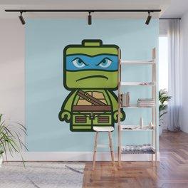 Chibi Leonardo Ninja Turtle Wall Mural