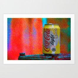 Groovy Coke Art Print
