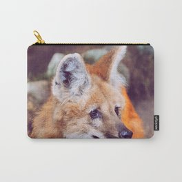 Amber Gaze Carry-All Pouch