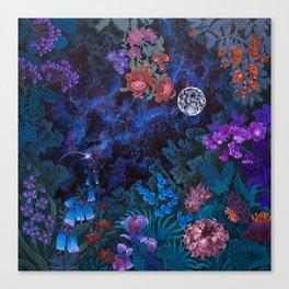 Space Garden Cosmos Canvas Print