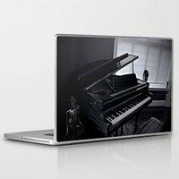 piano Laptop & iPad Skins featuring Piano  by Arran.Sahota