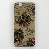 quotes iPhone & iPod Skins featuring Quotes by Aubree Eisenwinter