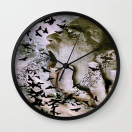 Going out of my head Wall Clock