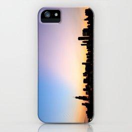 Chicago Skyline Silhouette iPhone Case