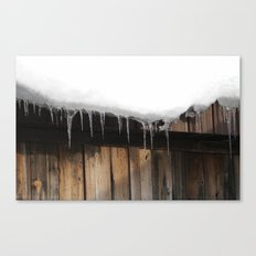 Antique Icicles  Canvas Print