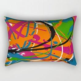 Wet Paint no. 04 Rectangular Pillow