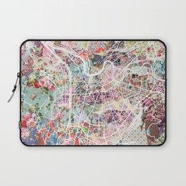 Grenoble map Laptop Sleeve