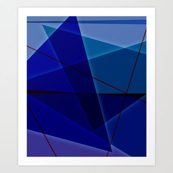 Abstract #420 Art Print