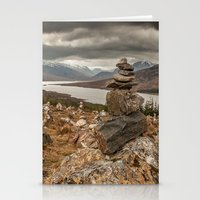scotland Stationery Cards featuring Scotland by Miguel Cardoso