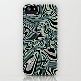 TIME KEEPS ON SLIPPIN' iPhone Case