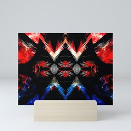 Shifted Red, White, & Blue Mini Art Print