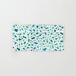 Terrazzo Aqua Hand & Bath Towel