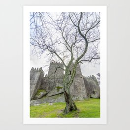 The Castle tree Art Print